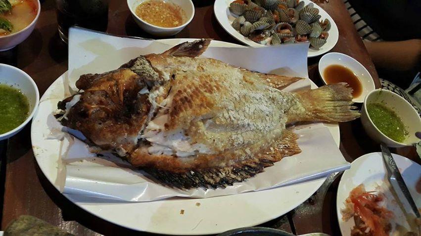 ท่าบ่อปลาเผาสมุนไพร