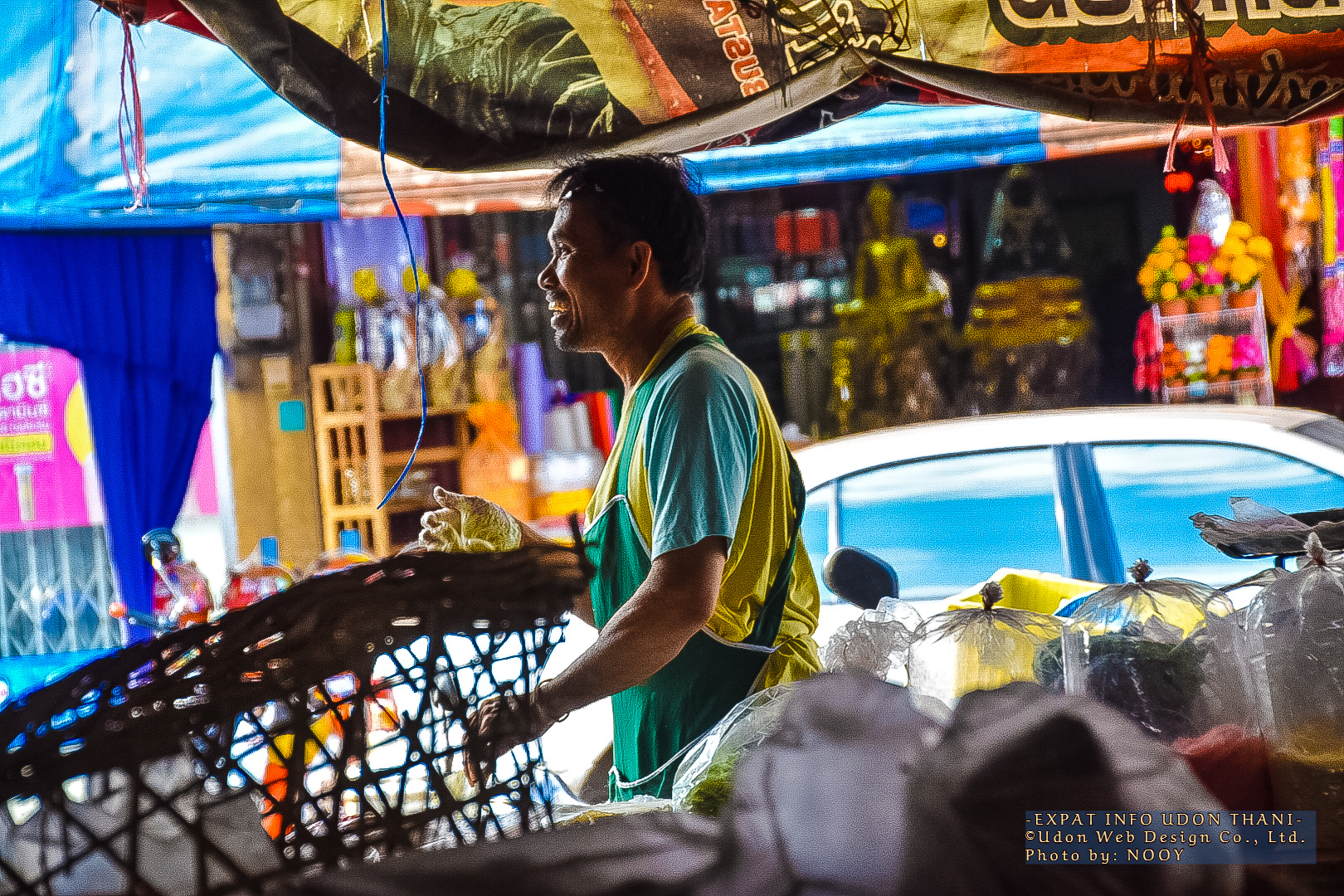 BAN HUAY MARKET UDON THANI THAILAND