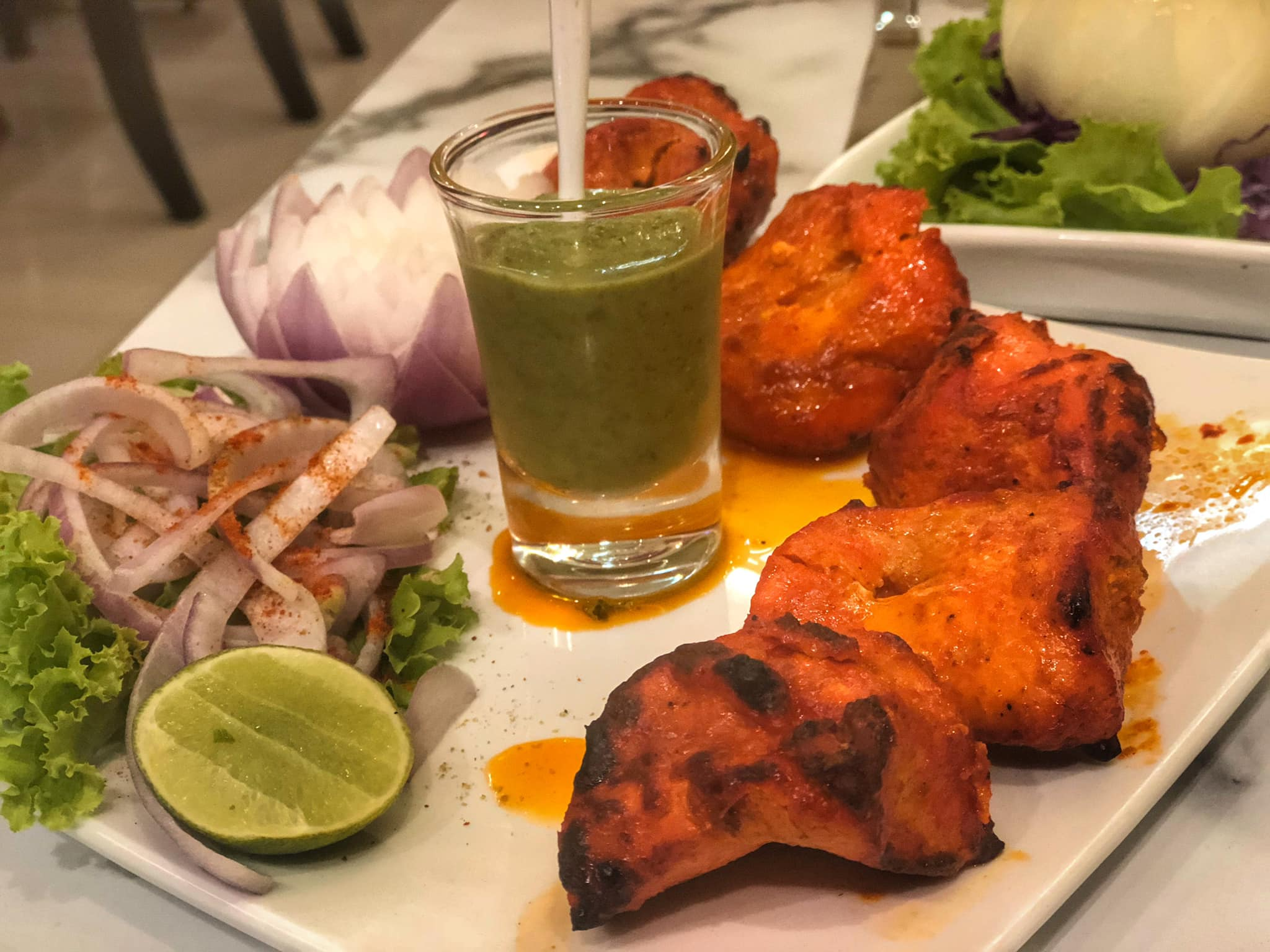 CHICKEN TIKKA MASALA INDIAN FOOD RESTAURANT UDON THANI THAILAND